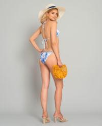 Dół od bikini z kryształami Swarovskiego