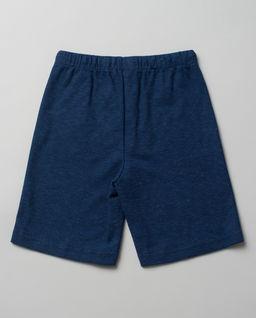 Niebieskie spodenki z bawełny