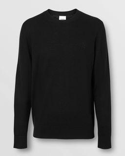 Czarny sweter z kaszmiru