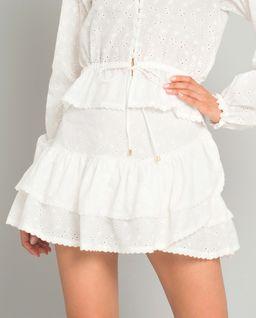 Biała spódnica Pozzallo