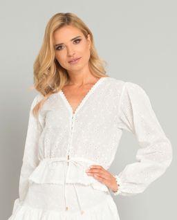 Biała bluzka Pozzallo