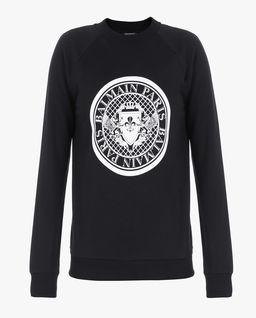 Czarna bluza z logo