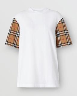 T-shirt Vintage Check