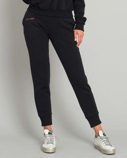 Czarne spodnie dresowe Menfi