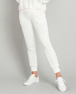 Białe spodnie dresowe Menfi