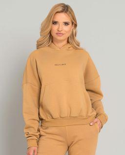 Beżowa bluza z kapturem Menfi