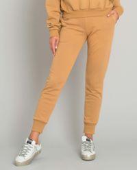 Beżowe spodnie dresowe Menfi