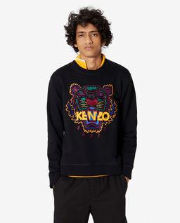 Czarna bluza z tygrysem