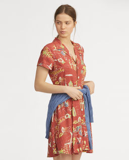 Tropické mini šaty