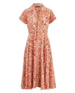 Květinové midi šaty
