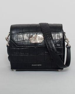 Kožená kabelka BOX BAG