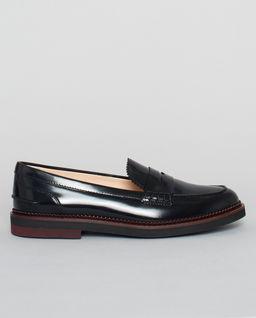 Kožené loafery