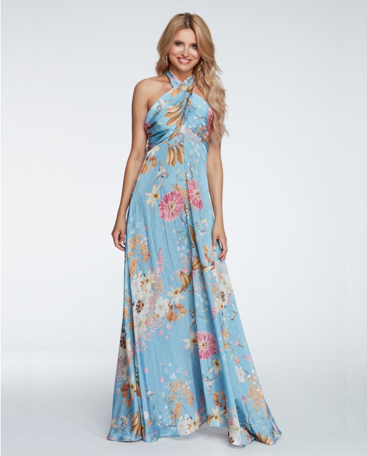 4555b1fa65bbd6 Sukienka maxi Sofia. Powrót do listingu produktów. CENA 499 zł. wkrótce.  powiększ