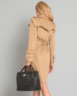 Dwurzędowy płaszcz z guzikami