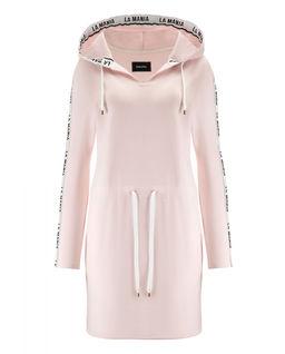 Růžové šaty Akra