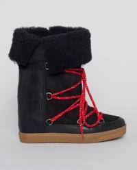 Czarne śniegowce Nowly