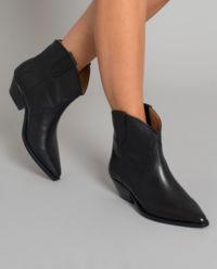 Kožené kovbojské boty Dewina
