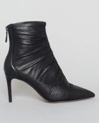 Kožené botky Susanna černé