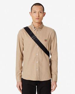 Koszula z tygrysem Slim-fit