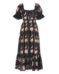 Černé, hedvábné šaty