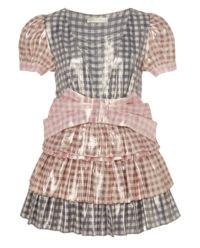 Błyszcząca sukienka mini