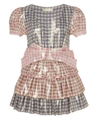 Lesklá mini sukně