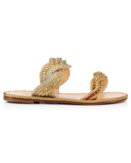 Płaskie sandały Normandie