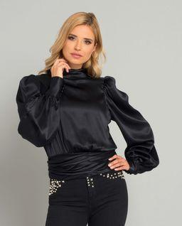 Czarna bluzka Paris