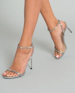 Sandały na szpilce Ellabrita