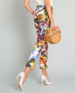Kolorowe spodnie w kwiaty