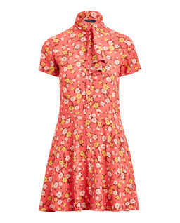 Mini sukně s květinami