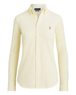 Żółta koszula Slim Fit