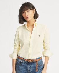 Žlutá košile Slim Fit