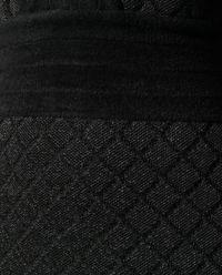 Sukienka mini z błyszczącą nicią
