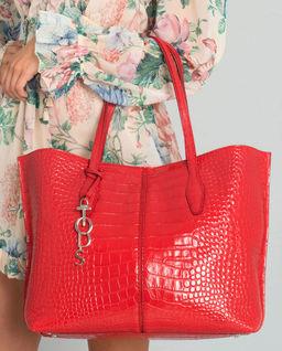 Červená kabelka Joy Medium