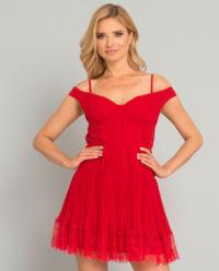 Sukienka z plisowaniem