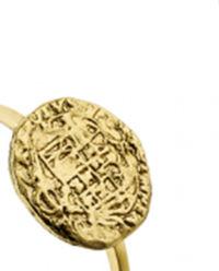 Pierścionek Texture Medaillion