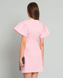 Růžové mini šaty