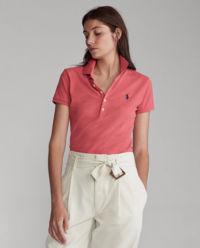 Červené tričko Polo