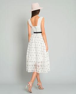 Sukienka z kwiatowej koronki