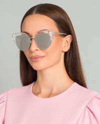 Okulary Audrey z kryształami Swarovskiego