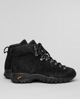 Czarne buty trekkingowe