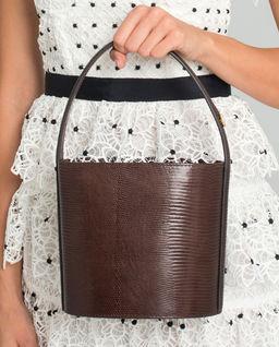 Kožená kabelka Bisset