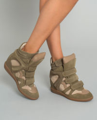 Sneakersy Bekett Taupe