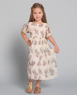 Sukienka z jedwabiu 2-12 lat