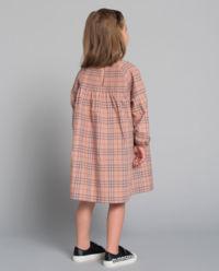 Sukienka w kratę 3-12 lat