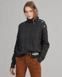 Wełniany sweter z domieszką kaszmiru