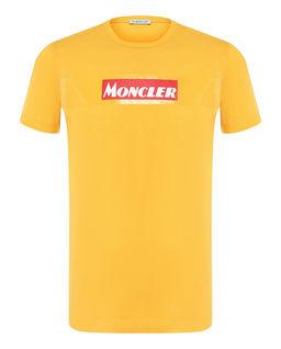 Żółty t-shirt z logo