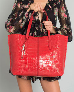 Červená kabelka Joy Large