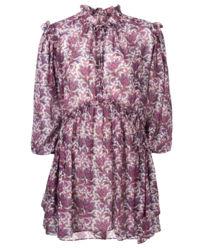 Sukienka w kwiaty Nydia